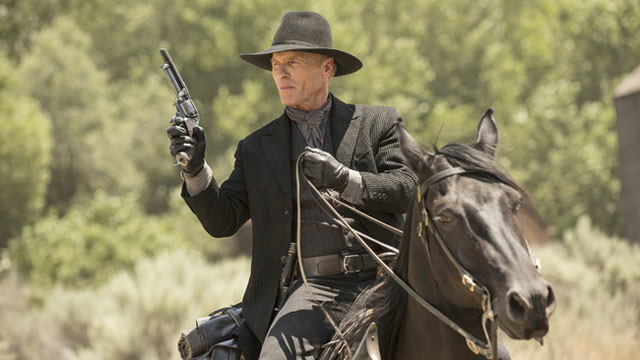 William from Westworld print Man in Black Portrait of Ed Harris in A4