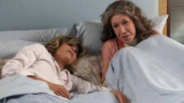 Lily Tomlin on Grace and Frankie