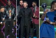 espys 2017 golden state warriors new england patriots simone biles