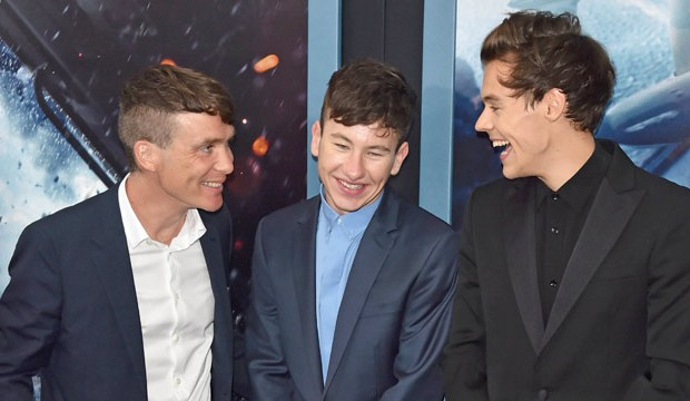 Harry Styles with Cillian Murphy, Barry Keoghan