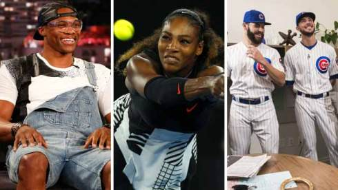 russell westbrook serena williams chicaco cubs