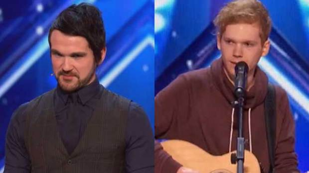 AGT semifinalists Colin Cloud, Chase Goehring