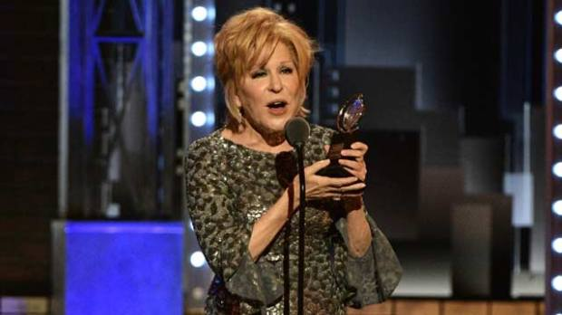 bette midler tony awards 2017