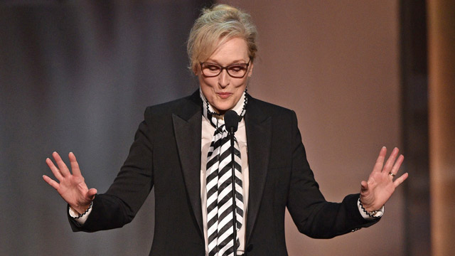Meryl Streep nominated at 2017 Emmys: Win for 'Five Came