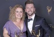 Mandy Moore, Travis Wall at 2017 Creative Arts Emmys