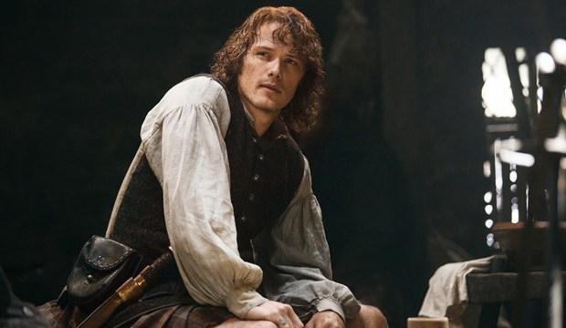 Sam Heughan as Jamie Fraser Outlander