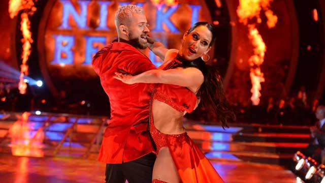 Dancing with the Stars Watch Nikki Bella Body Slam Artem