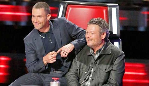 Adam Levine, Blake Shelton on The Voice
