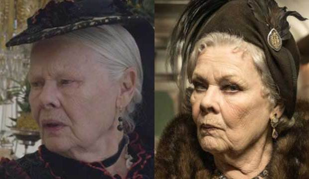 Judi Dench in Victoria and Abdul and Murder on the Orient Express