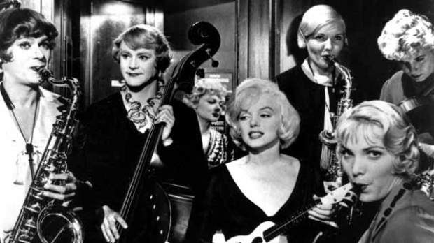 Marilyn Monroe In Some Like It Hot Is Perfect Valentine S Day