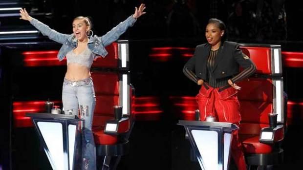 The-Voice-Miley-Cyrus-Jennifer-Hudson