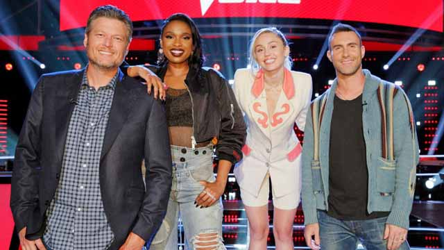 Who was on the voice last season