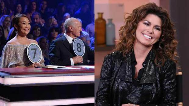 shania twain dancing with the stars judges