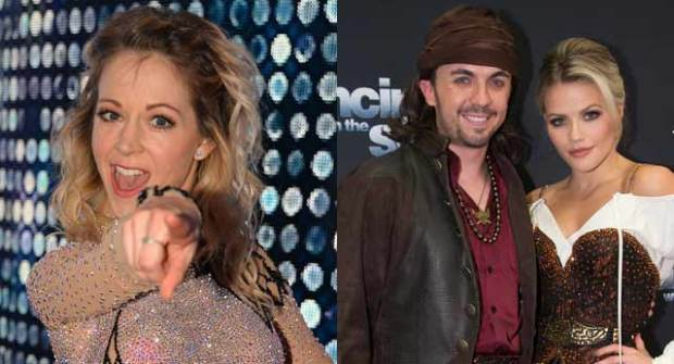 lindsey stirling frankie muniz dancing with the stars