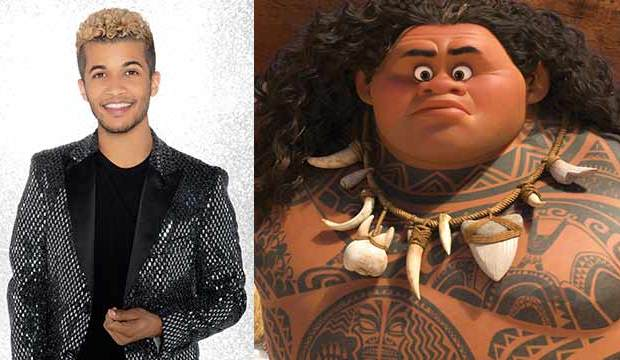 jordan fisher moana dancing with the stars disney night