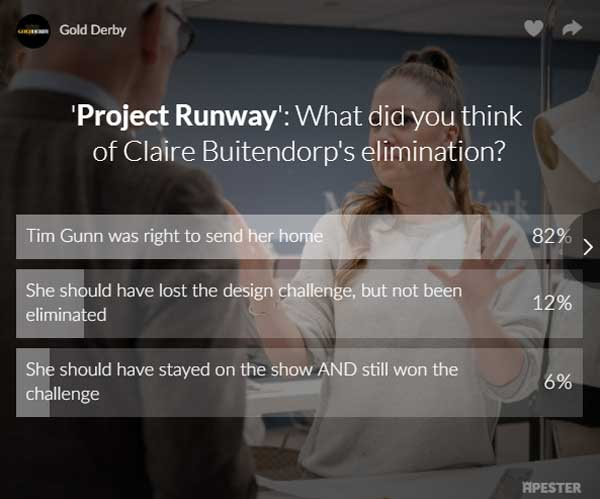 project runway poll results
