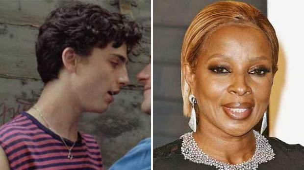 timothee chalamet mary j blige