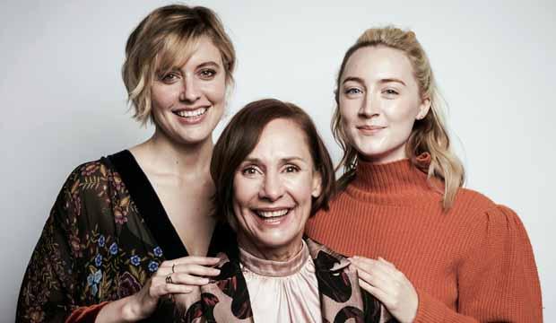 Saoirse Ronan, Greta Gerwig, Laurie Metcalf
