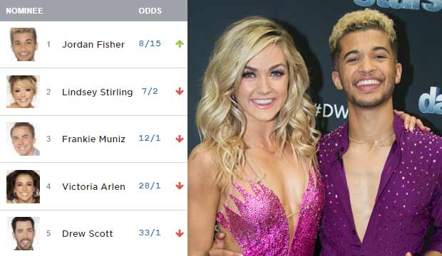 jordan fisher dancing with the stars dwts lindsay arnold