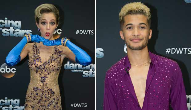 lindsey stirling dancing with the stars dwts jordan fisher