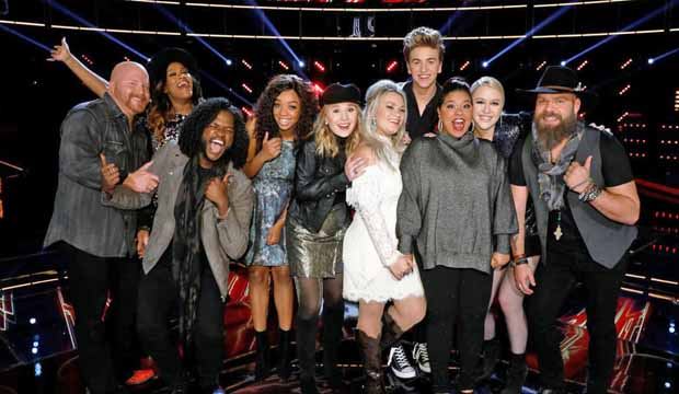 Top 10 The Voice Season 13