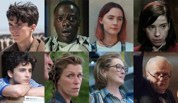 oscars best picture the post shape of water get out dunkirk lady bird