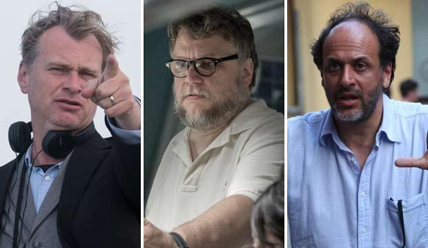 Christopher Nolan Guillermo Del Toro Luca Guadagnino