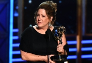 Ann Dowd winning Drama Supporting Actress at the Emmy Awards