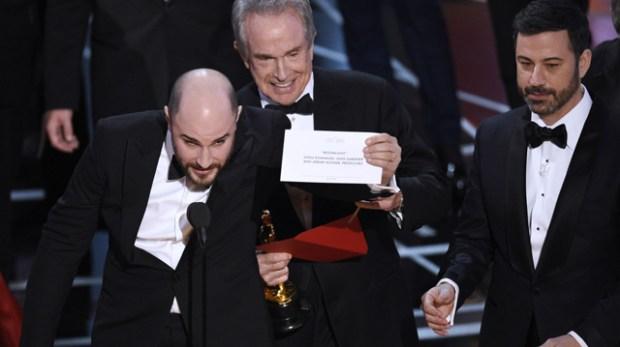Best Picture Envelope Fiasco