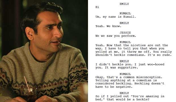The Big Sick screenplay
