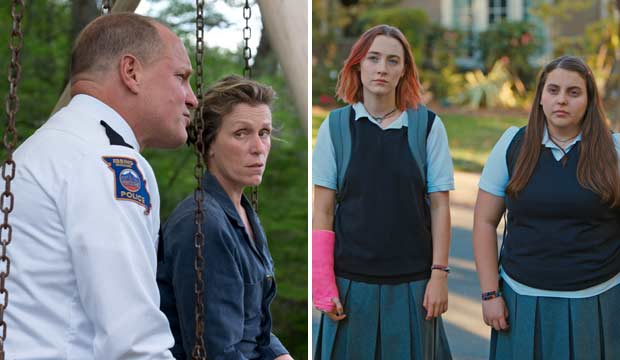 three billboards lady bird