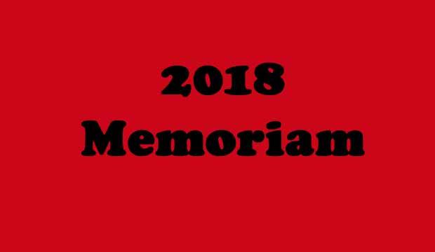 2018 Memoriam Gallery