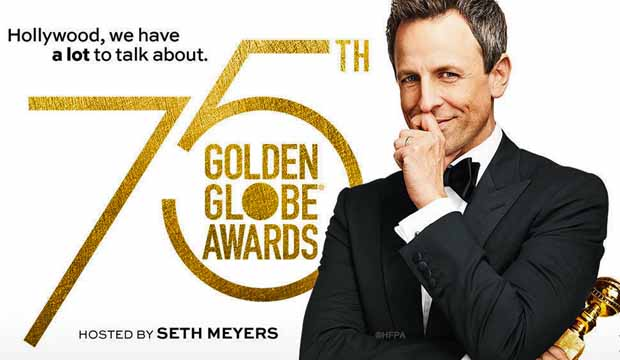 Golden Globes 2018 Seth Meyers