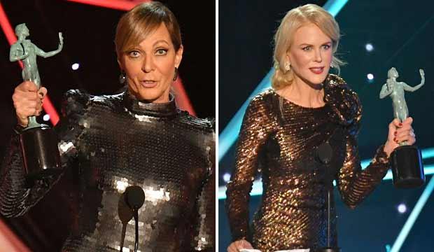 Allison Janney and Nicole Kidman SAG Awards 2018