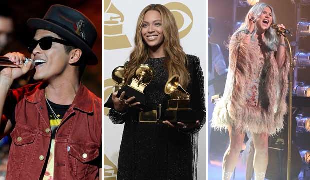 Bruno Mars Beyonce Kesha