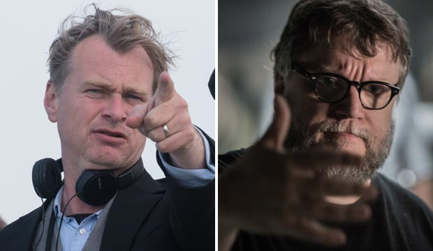 Christopher Nolan and Guillermo Del Toro