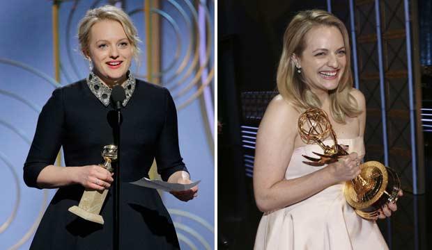 Elisabeth Moss Golden Globes 2018