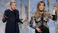 Frances McDormand and Allison Janney Golden Globes 2018