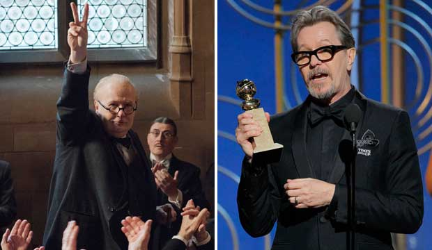 Gary Oldman Golden Globes 2018