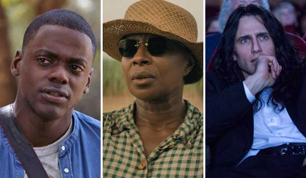 Get Out Mudbound The Disaster Artist