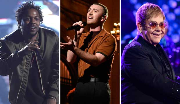 Kendrick Lamar Sam Smith Elton John