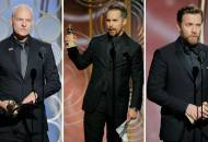 Martin McDonagh Sam Rockwell Ewan McGregor Golden Globes 2018