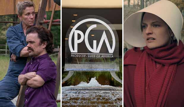 PGA predictions Three Billboards Handmaid's Tale