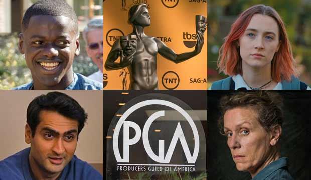 PGA Awards and SAG Award nominees