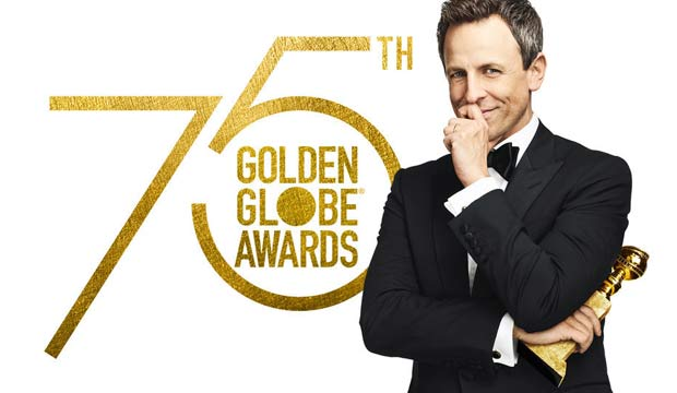Seth Meyers Golden Globes 2018