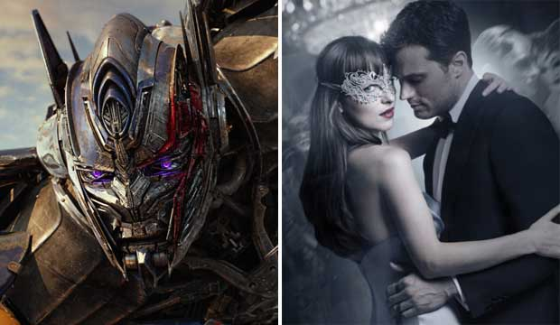 Transformers The Last Knight and Fifty Shades Darker