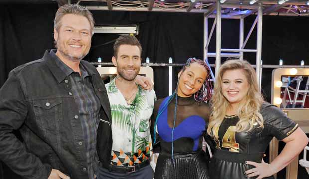 The Voice Coaches Season 14 Blinds