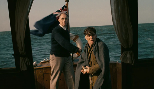 Mark Rylance and Cillian Murphy, Dunkirk