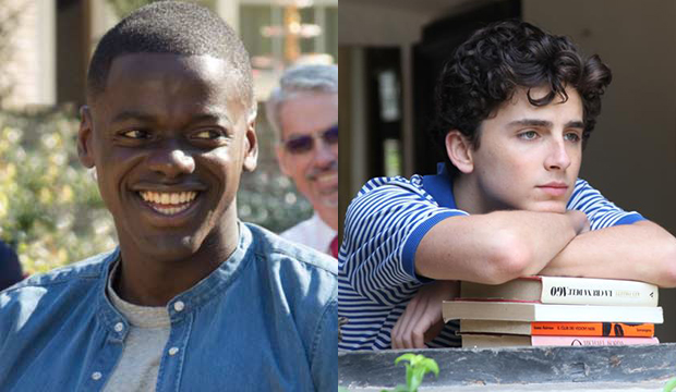 Daniel Kaluuya, Get Out; Timothee Chalamet, Call Me by Your Name