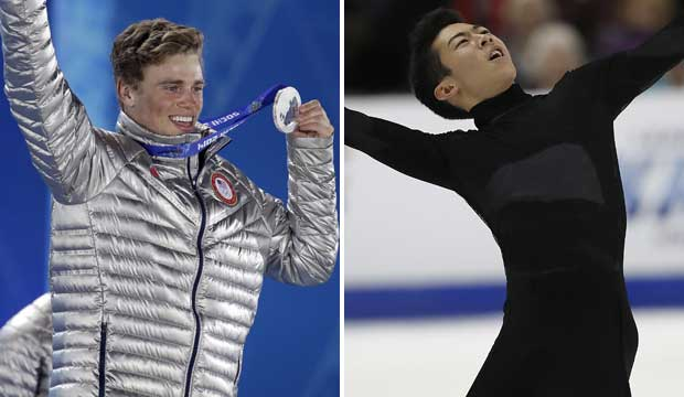 Gus Kenworthy and Nathan Chen